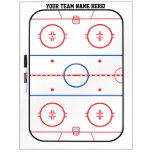 Planificador del juego de la pista del hockey de P Tableros Blancos
