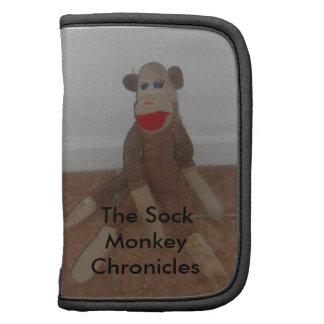 Planificador del mono del calcetín