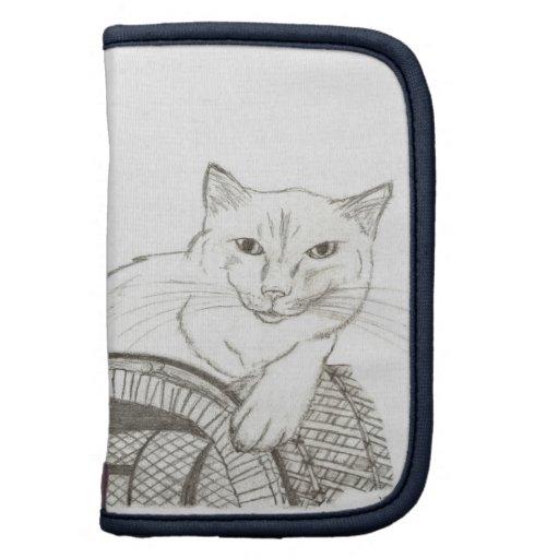 Planificador del retrato de Ragdoll del gato