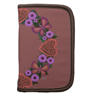 """Planificador en folio del """"de las flores púrpuras"""