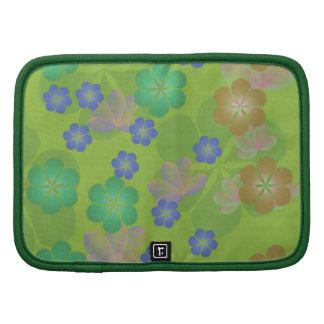 Planificador en folio verde de encaje de Lotus