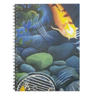 Planificador mágico de la charca de Koi/libro Libros De Apuntes