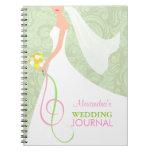 Planificador nupcial del diario del boda de la ver libretas