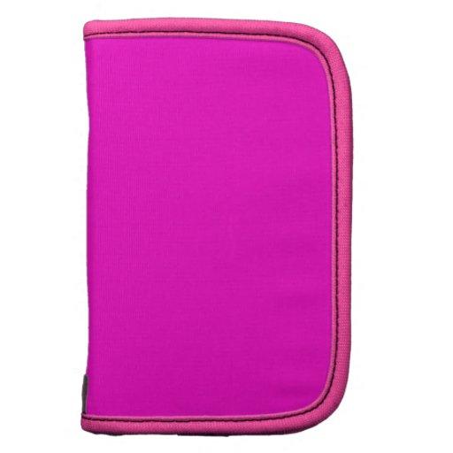 Planificador rosado