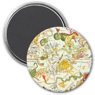 Planisphæri Cœleste 1698 - Astrology Chart #1 Refrigerator Magnet