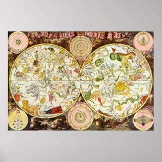 Planisphæri Cœleste: Astrología - poster