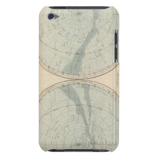 Planisphere Celeste Hemisphere Barely There iPod Cover