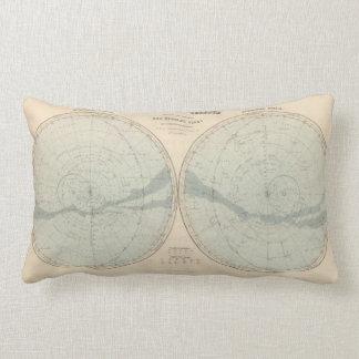 Planisphere Celeste Hemisphere Lumbar Pillow
