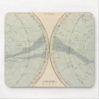 Planisphere Celeste Hemisphere Mousepad