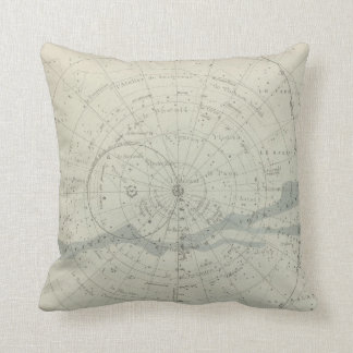 Planisphere Celeste Hemisphere Pillow