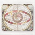 Planisphere, from 'Atlas Coelestis' Mouse Pad