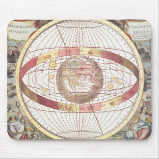 Planisphere from Atlas Coelestis Mousepads