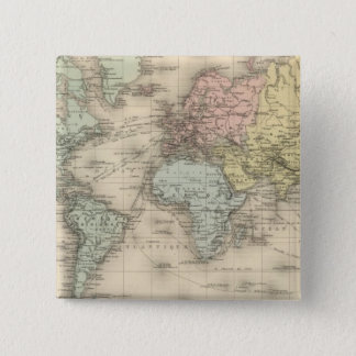 Planisphere Pinback Button