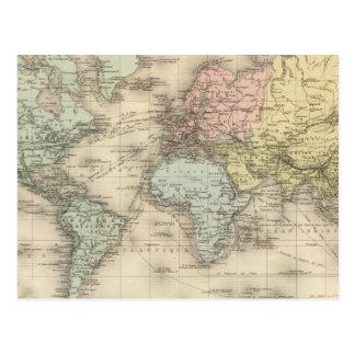 Planisphere Postcard
