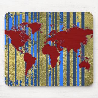 Planisphere-World Map Mousepads