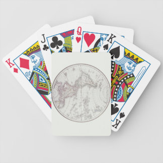 Planispheric Map Bicycle Playing Cards