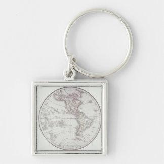 Planispheric Map Keychain