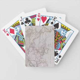 Planispheric Map of the World Bicycle Playing Cards