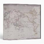 Planispheric Map of the World Binder