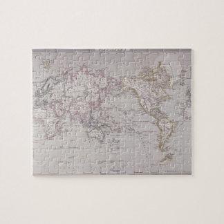 Planispheric Map of the World Jigsaw Puzzle
