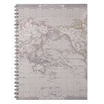 Planispheric Map of the World Notebook