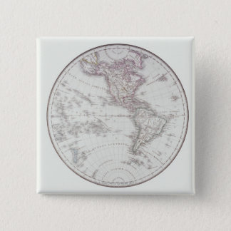 Planispheric Map Pinback Button