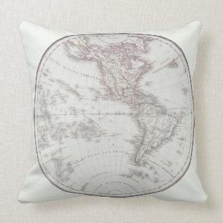 Planispheric Map Throw Pillow