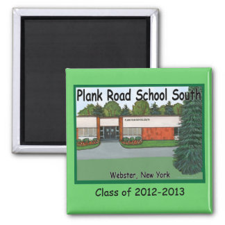 Plank Road South Magnet