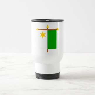 Planken Armorial Banner on Crossbar 15 Oz Stainless Steel Travel Mug