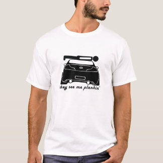 Plankin' on a G35 Coupe T-Shirt