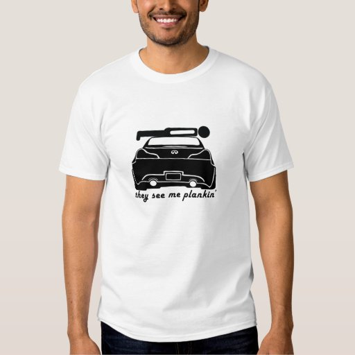 Plankin' on a G37 Coupe T-Shirt