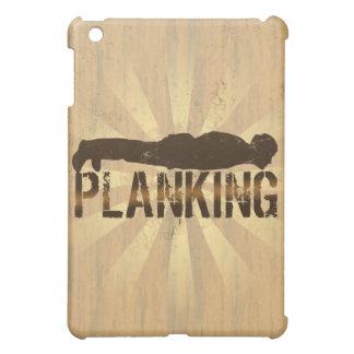 Planking, Cool Lying Down Game iPad Mini Covers
