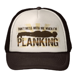 Planking, Cool Lying Down Game Trucker Hat