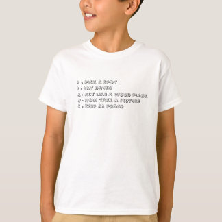 Planking not Napping T-Shirt