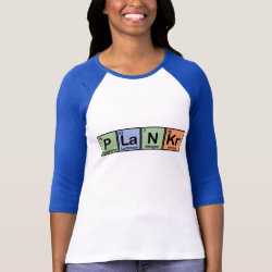 Plankr Ladies Raglan Fitted T-Shirt
