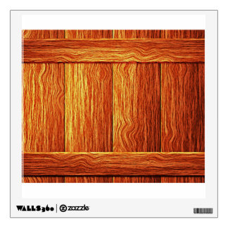 Planks Of Wood Wall Sticker