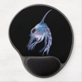 Planktonic crustacean larva gel mouse pad