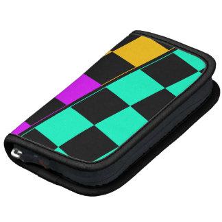 Planner, Black, Mint, Purple,Yellow Angled Checker Organizers