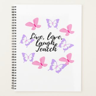Planner live love laugh learn