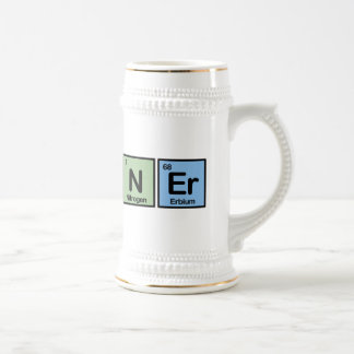 Planner made of Elements Beer Stein