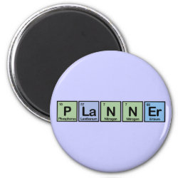 Round Magnet with Planner design