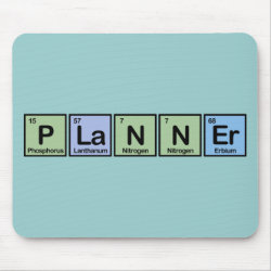 Mousepad with Planner design