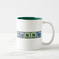 Two-Tone Mug with Planner design