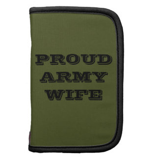 Planner Proud Army Wife