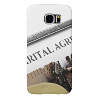 Planner Subject Samsung Galaxy S6 Cases