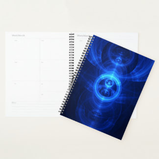 Planner with a Blue Glass Symbol of Purpose
