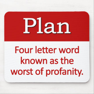 Planning Definition Mouse Pad