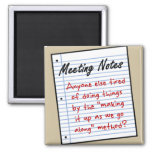 Planning Meeting Fridge Magnet