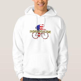 Plano Bicycle American Patriot Cycling Logo Hoodie
