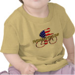 Plano Bicycle American Patriot Cycling Logo Tee Shirt